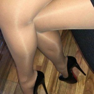 Polish Sheer Airline Beige Pantyhose Tight x 5